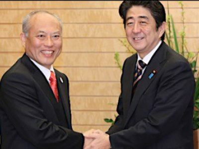 Abe and Masuzoe
