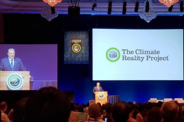 Keynote of former US Vice President Al Gore