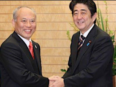 Abe and Masuzoe